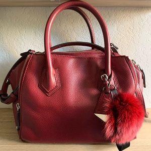 Rebecca Minkoff Tote/Crossbody Bag with Pom Pom